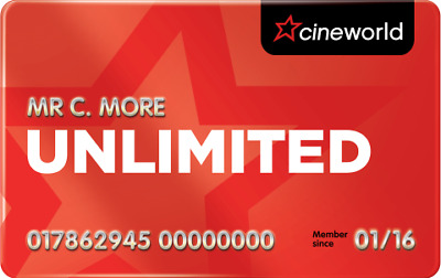 £90 Cineworld unlimited voucher