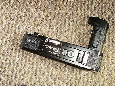 Nikon MD-3 Motor Drive (for use with the MB-2 battery pack) on the Nikon F2