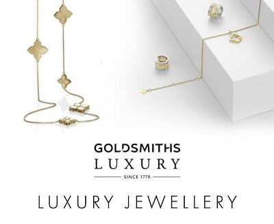 £105 Goldsmiths jewellers voucher