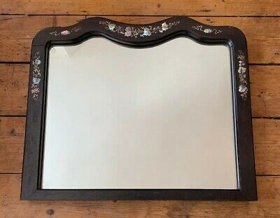 A Chinese Mother-of-Pearl Inlaid Wall Mirror