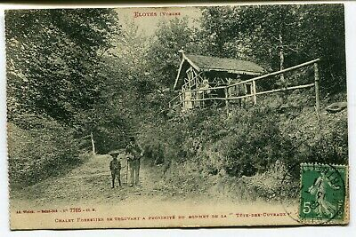CPA - Carte Postale - France - Eloyes - Chalet Forestier