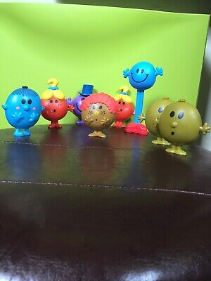 LOT figurine Monsieur Madame Mc Do Happy Meal  collection !!