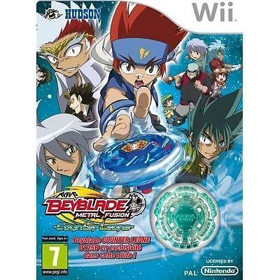 BEYBLADE+TOUPIE EXCLUSIVE Wii , neuf sous blister