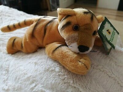 BNWT Cute Cuddly Tiger Teddy West Midlands Safari Park