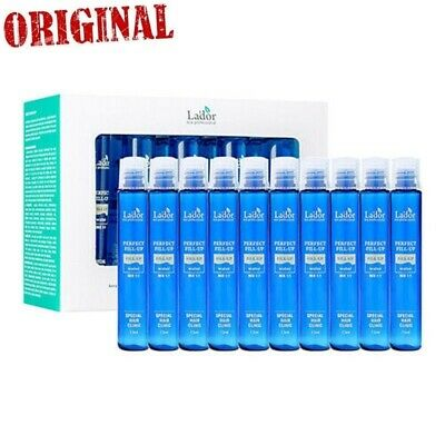 10pcs LADOR Perfect Hair Fill-Up 13ml Protein Ampoule Keratin Hairs Treatment
