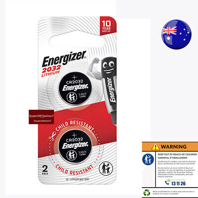 4 X  New Genuine Energizer CR2032 Battery 3V Lithium Batteries Button