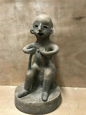 Ancient Old Neolithic Qijia Culture pottery Human statue