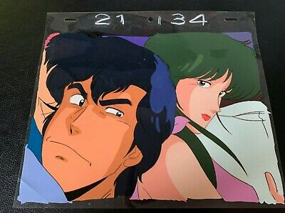 Cel cellulo anime cel Nicky Larson City Hunter