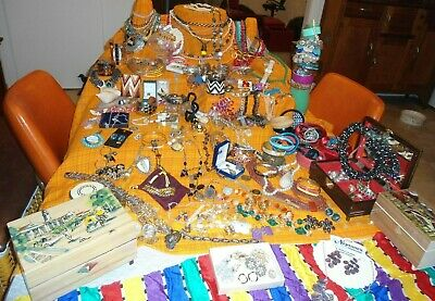 deceased estate bulk lot of jewelry  Antique and Vintage Silver 925 and 9ct Gold