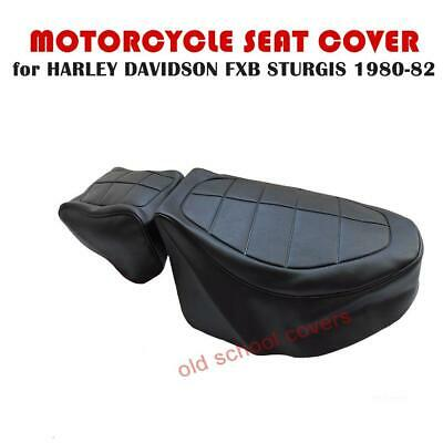 Harley Davidson Sturgis Fxb 1980-1982 Rider & Pillion Seat Covers