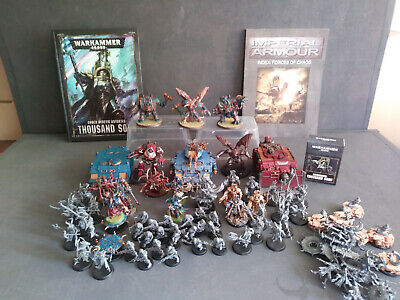 Warhammer 40k Chaos Space Marine Thousand Sons Army Multi-Listing Worldwide Post