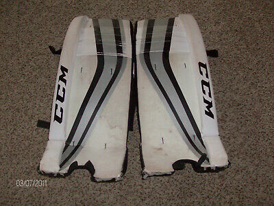 CCM PREMIER 1 5 Junior New Leg Pads Ice Hockey Goalie