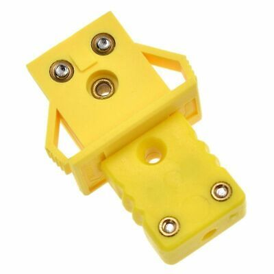 Thermocouple Socket Plug Adaptor Mini Universal K-Type Panel Connector
