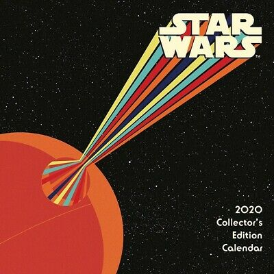 DateWorks Star Wars Collector's Edition 2020 Wall Calendar 12 3/8 x 12 5/8 w