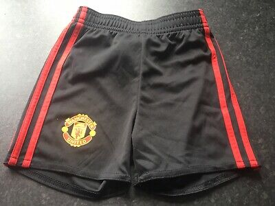 Baby Boys Manchester Adidas Shorts Age 6/9 Months