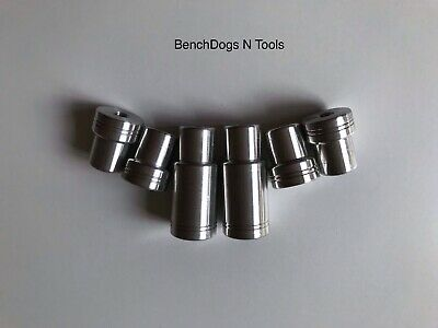 6x BenchDogs MFT Festool carpentry Bosch Dewalt Makita Mafell Joinery Bench dog