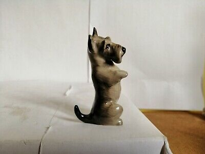 Vintage Royal Doulton K10 Series Dog Figurine Scottish Terrier/Schnauzer