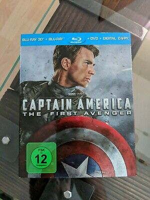 Captain America - The First Avenger (+ Blu-ray + DVD) [Blu-ray 3D] [Limited Edit