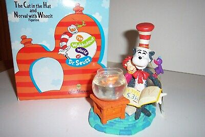 Dr. Suess Cat in the hat Norval & Whozit figurine