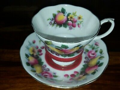 Royal Albert Country Fayre Series Surrey Tea Cup And Saucer