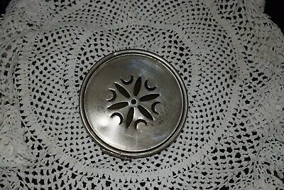"""Vintage French clock 4"""" hinged back plate for parts/spares/repairs"""