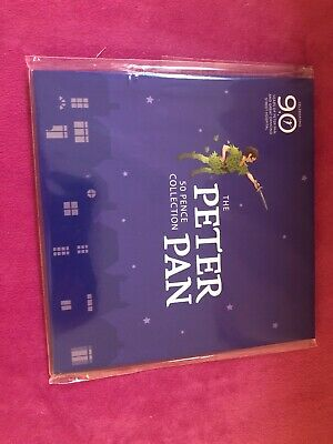 2019 OFFICIAL PETER PAN 50p 6 BUNC Coin Complete Set 90th ANNIVERSARY PACKAGING