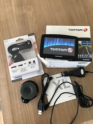 TomTom XL 2 IQ Routers Navigationsgerät + 2. LADEKABEL NEU!!!!
