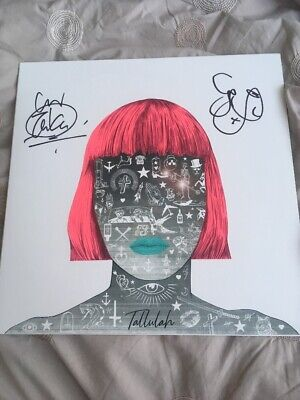 """Feeder - Tallulah (NEW 12"""" WHITE VINYL LP)Limited Edition. Signed Copy."""