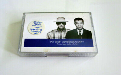 Pet Shop Boys ‎– Discography - Complete Singles Collection - Cassette Tape -1991