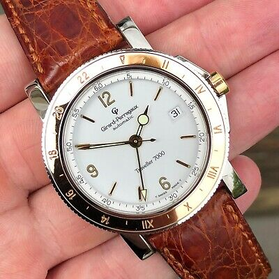 Girard-Perregaux Traveller 7000 GMT - Two Tone Steel & Rose Gold - Automatic