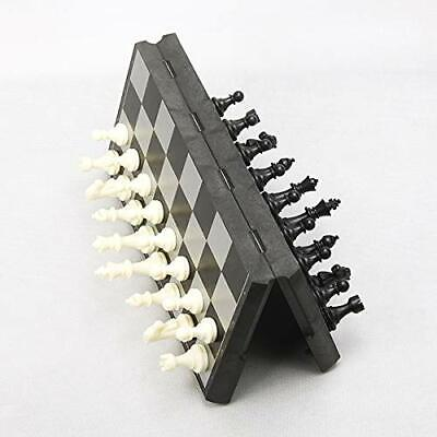 3 In 1 Folding Magnetic Chess Set Checkers Backgammon Board Game