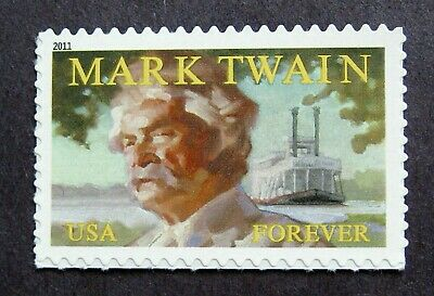 Sc # 4545 ~ Forever Issue, Mark Twain (dh18)