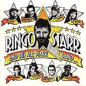 Ringo Starr and His All-Starr Band CD/Album-1990-Rykodisc