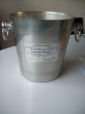 Champagne cooler bucket Laurant Perrier Alu made in France