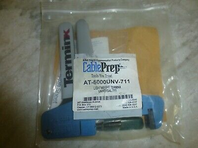Cable Prep AT-5000 UNV-711 Hand Crimper, NEW