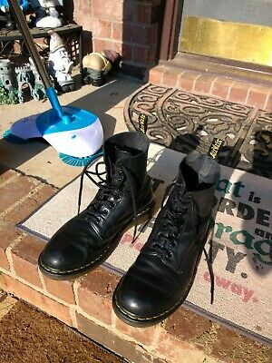3e64b1c124b DR DOC MARTENS Pascal Wigan Kaboom Multi Color 8 Eye Lace Up Ankle ...
