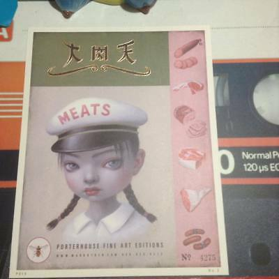 """Mark RYDEN Meat Girl Print The """"Meat Girl"""" Print limited edition, numbered"""