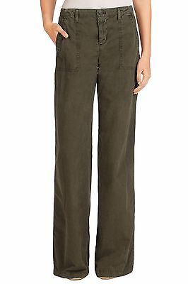 J-Brand Flare Green Women's Jeans Drea in Jungle Pant in Sizes: 25, 26, 27