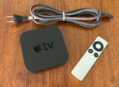Apple TV (3rd Generation) 8GB A1469 with remote and power cord