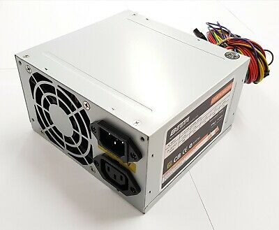 500W ATX Power Supply PSU Silent Fan Desktop Computer PC Gaming