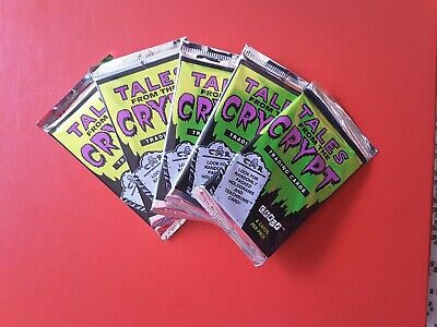 1993 Tales from the Crypt Trading cards 5 sealed Packs