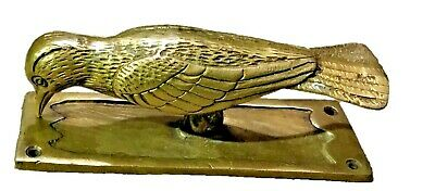 Golden Bird Shape Antique Vintage Style Handmade Brass Door Knocker Home Decor C