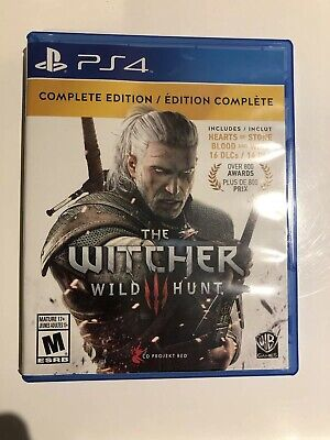 Witcher 3: Wild Hunt (Complete Edition) PS4