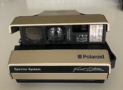 POLAROID Spectra System First Edition Camera With Case And Manual