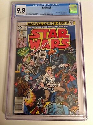 CGC 9.8 Star Wars #2 1977 Off-White to White Pages
