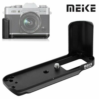 Meike MK-XT20G Metal Vertikal Bracket Hand Grip For Fujifilm X-T20 X-T10 Camera