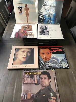 Pioneer CLD-S304 Laserdisc, CD, CDV Player With 7 Movies 4 Sealed The Abyss
