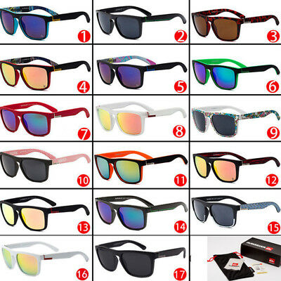 Quiksilver 17 Style Sunglasses Outdoor Sports Fishing Shades Eyeglasses With Box