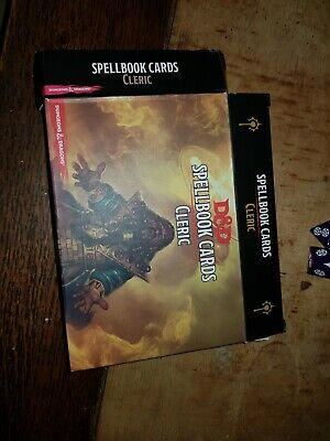 D&D XANATHARS GUIDE to Everything Spellbook Cards - £17 94