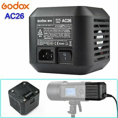 Godox AC26 AC Power Unit Source Adapter For AD600Pro All-in-One Outdoor Flash
